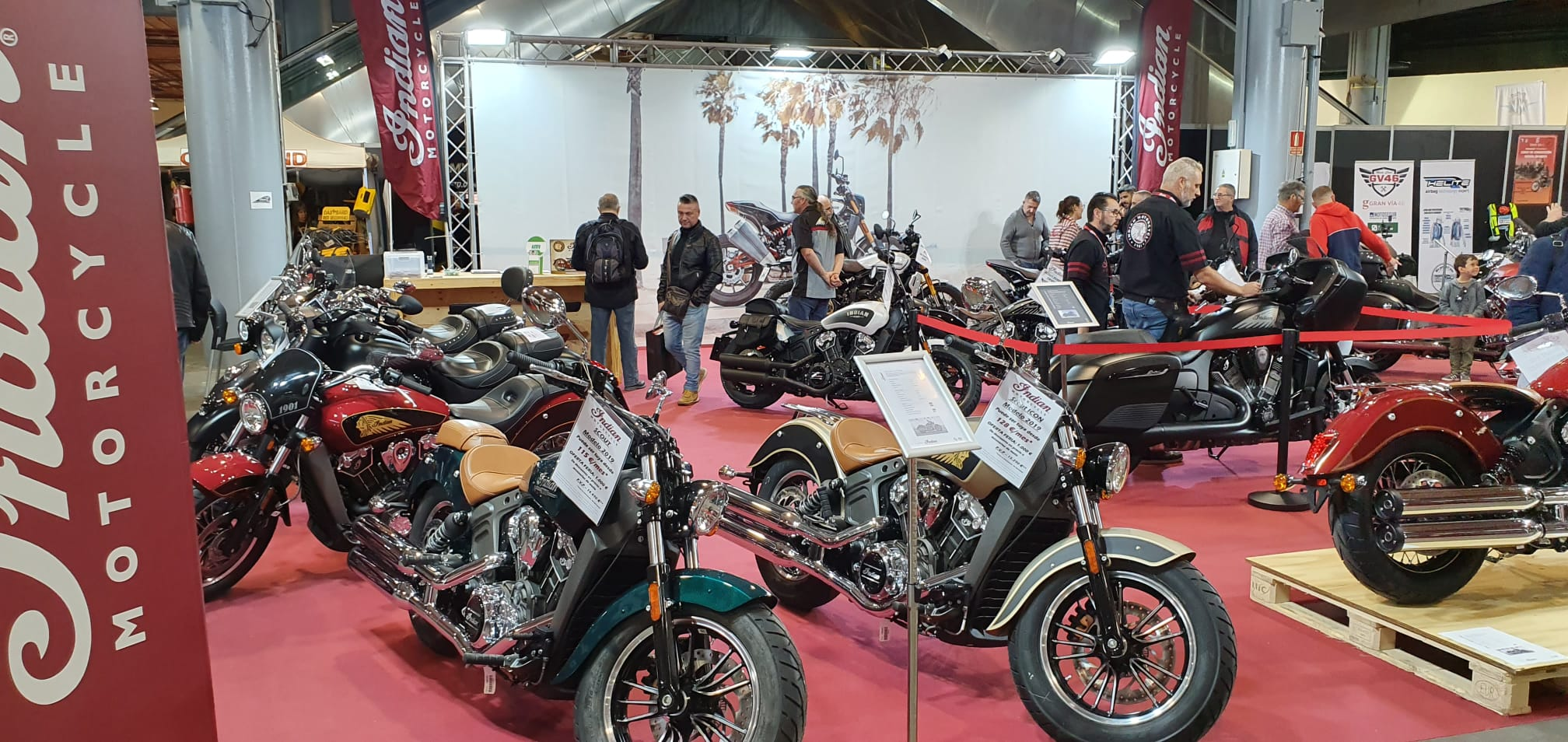 venta motos custom feria 2ruedas motocasionweb indian